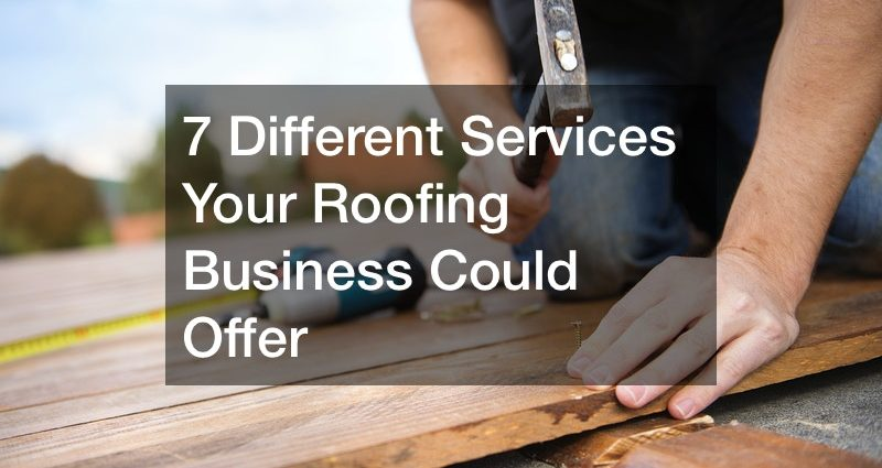 how to expand a roofing business